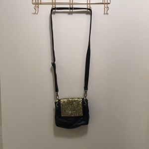 Urban Outfitters studded black crossbody bag